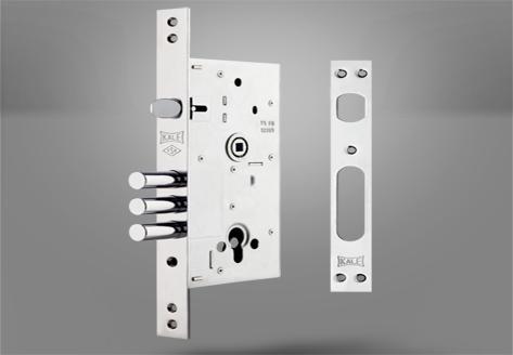 252-R Çelik Kapı Gömme Silindir Modeli - Kale Kilit