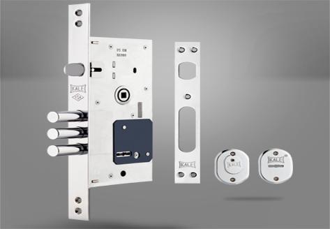 252-RL Çelik Kapı Gömme Silindir Modeli - Kale Kilit