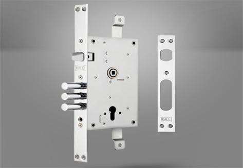 352-R Çelik Kapı Gömme Silindir Modeli - Kale Kilit